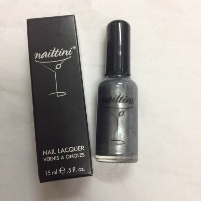 Nailtini Nail Lacquer, Caviar Cocktail, 15ml