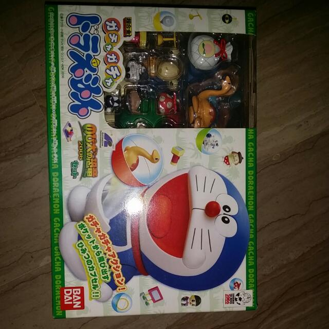 Pre-love Bandai Chogokin Doraemon Gacha Gacha MIB.