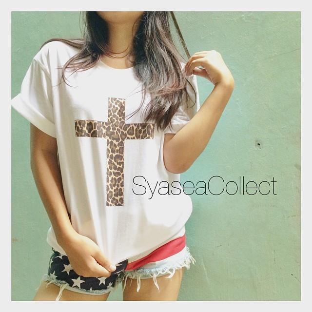 T-Shirt: Cross Leopard