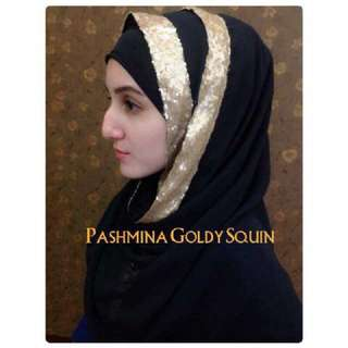 Pashmina Goldy Squin.