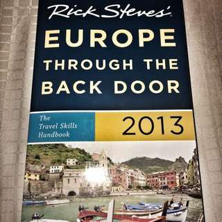Travel to Europe Book