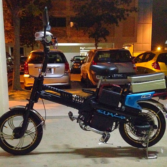 Car Bike Owners Not Starving Can Pay More For Petrol: 108v Lithium SUV 7 Ebike, Electric Bicycle , E Bike, Motor