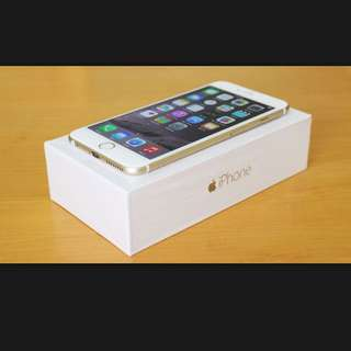 iPhone 6 16G Gold Color