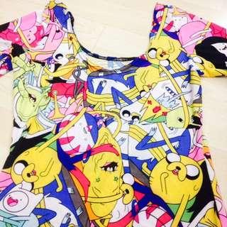 Adventure Time Bodycon Dress