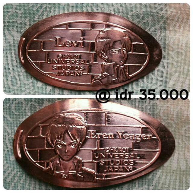 Attack On Titan limited medallion
