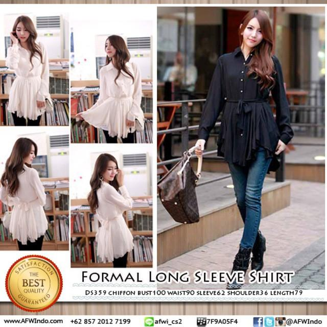 formal long sleeve shirt ds359
