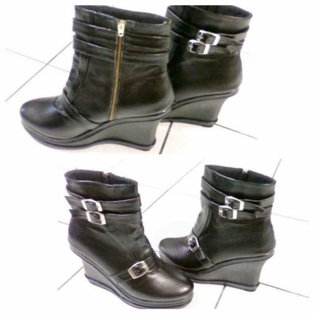 Japanese Wedges Boot