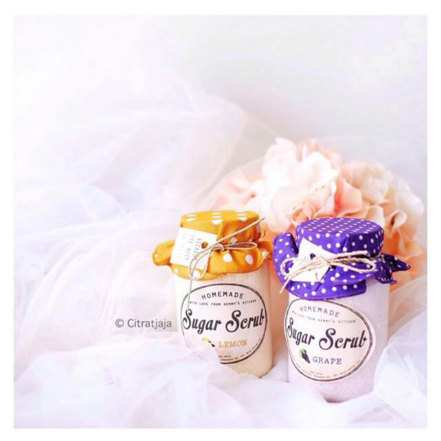 Sugar Scrub Arometheraphy