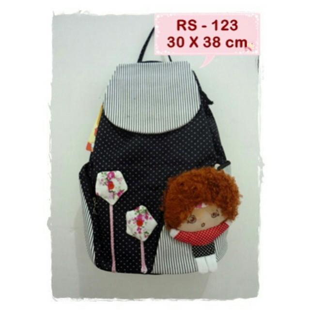 Tas Ransel Wanita Lucu Import Kanvas Backpack Korea Murah RS 123 Everything Else On Carousell