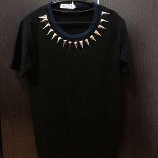 「二手市集」時裝金屬片設計上衣