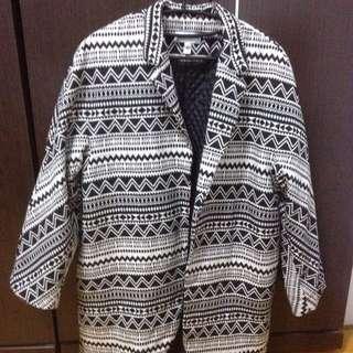 「二手市集」歐美款時裝民族風oversize寬鬆西裝外套