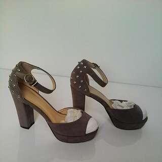 CLN studded Heels