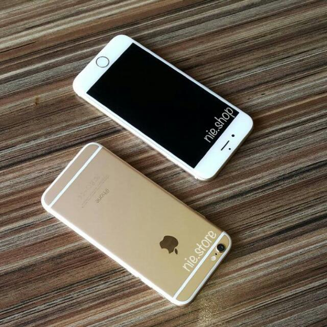 Iphone 6 16gb Silver Dan Black