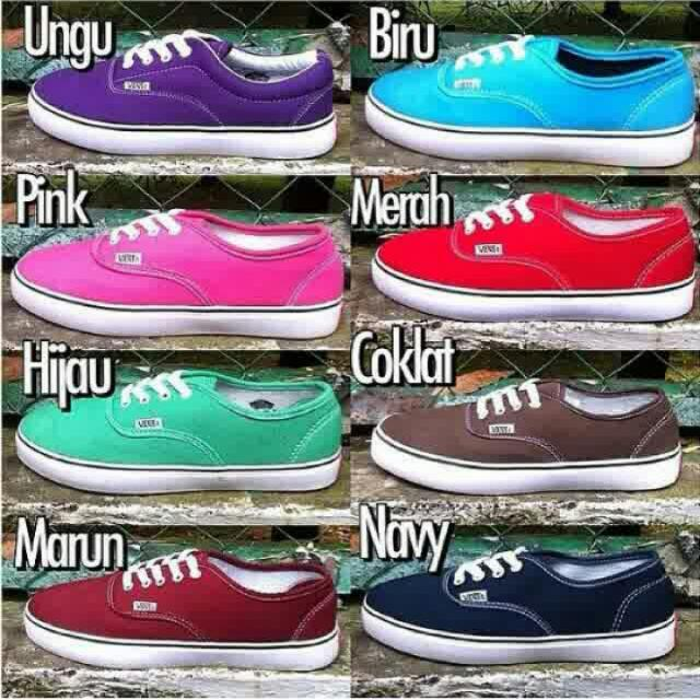 vans authentic indonesia