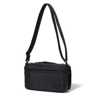 6e915e21fe3d Head Porter Black Beauty Shoulder Bag (S)