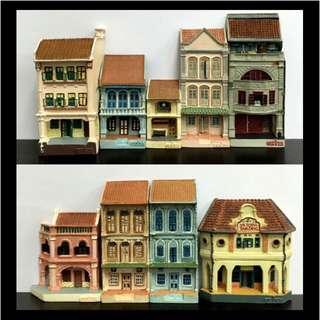 Singapore Historic Shophouses