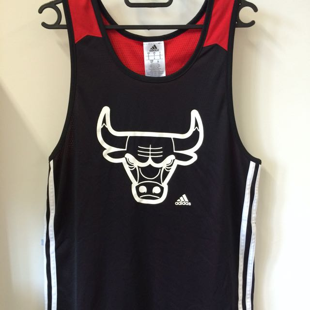 newest 8819a 3d763 Adidas Basketball Jersey Chicago Bull Limited Edition ...
