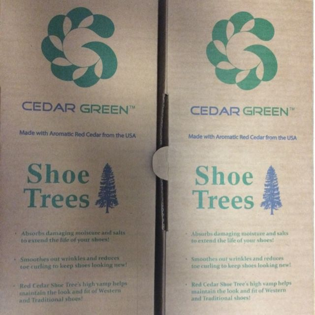 eb402513347cc6 Cedar Green Shoe Trees