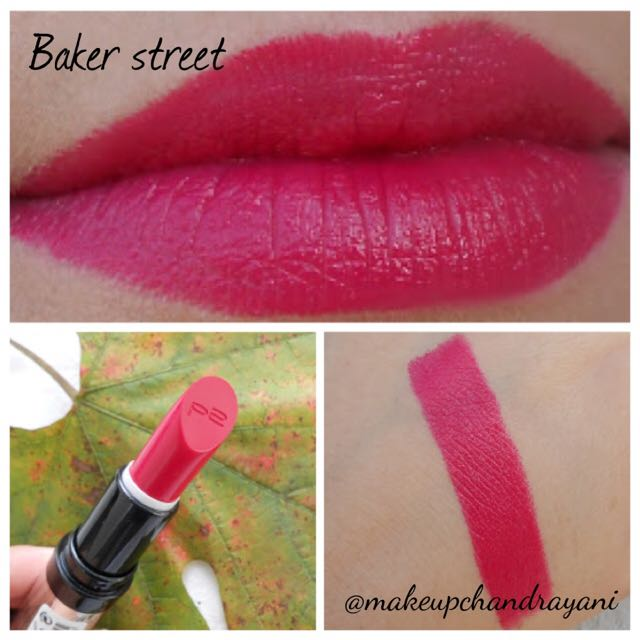 Pure Color Lipstick- Baker Street (P2 Cosmetic)