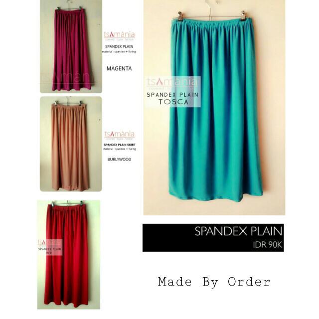 Spandex Skirt