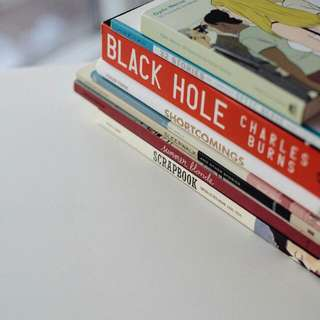 Lot Of Graphic Novels (Adrian Tomine, Ghost World, Black Hole)