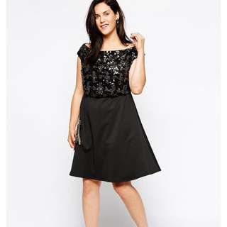 ASOS Sequin Skater Dress