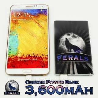 3600mAh Custom Powerbank