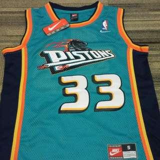 NBA Jersey Grant Hill Pistons Retro
