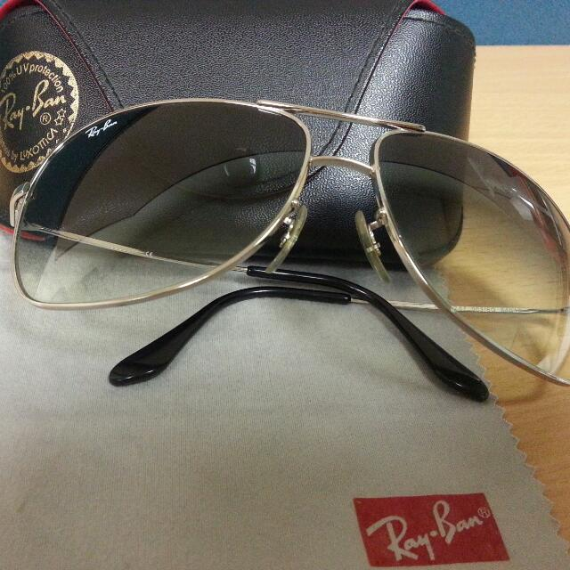 5b8b38073c Ray-Ban Aviator RB3267 003 8G 64-13 (Price Reduced) on Carousell
