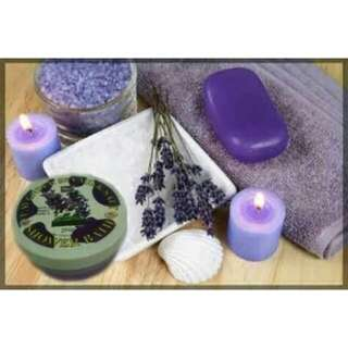 LAVENDER SPA MILK SALT SHOWER BATH 250g