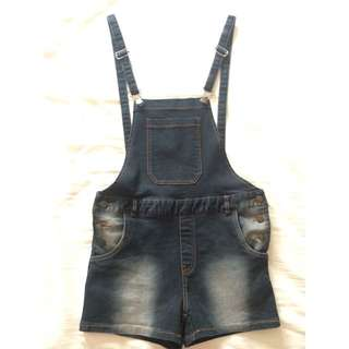 ♠️Jeans Black Overall