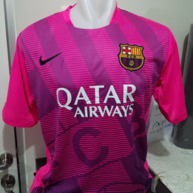7f63a90dc 15 16 BARCELONA JERSEY HOME   AWAY   TRAINING PINK   NAVY