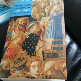 (Price Reduced) The Oxford History Of Christianity By John McManners