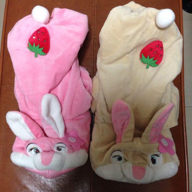 兔子寵物造型衣