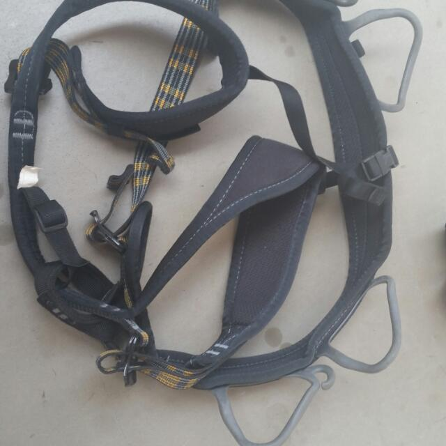 (Pending Deal)Rock Climbing Shoes And Harness
