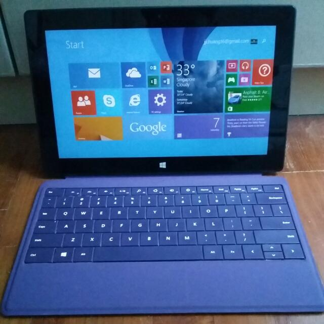 WTT/WTS Windows Surface RT 64 GB, Electronics on Carousell