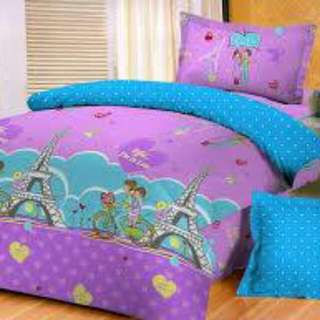 Sprei Ready Stock Sale Size 160 Queen Glow In The Dark