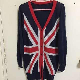 Union Jack Cardigan