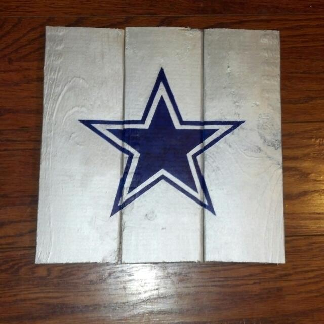 Dallas Cowboys Painting On Wood