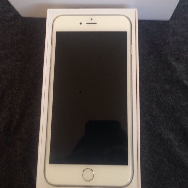 iphone 6 plus 16GB white