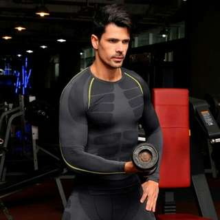 Compression Long Sleeves Top Shirt