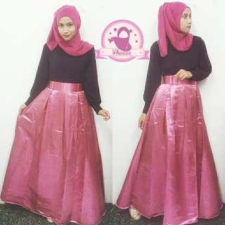 queen skirt PINK