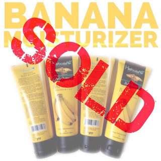 Sold - Banana moisturizer