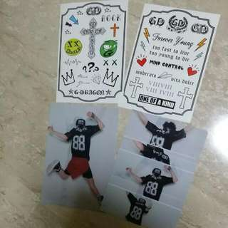 (Price Reduced!) GD One Of A Kind Stickers And File
