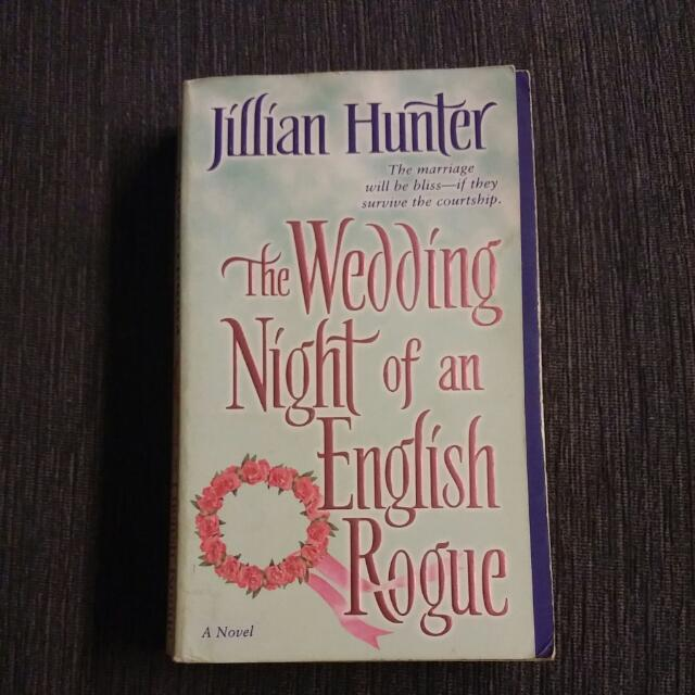 the wedding night of an english rogue hunter jillian