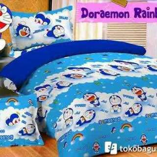 Sprei Ready Stock SALE Doraemon Size 180 King