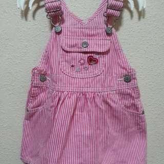 Pre-loved Osh Kosh Jumper Dress  (12 Months)