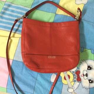 Coach Sling Bag Red Color