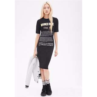 Forever21 X Warner Brothers. Tshirt Dress