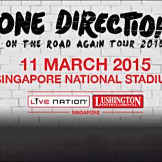 Discounted 1D Tickets (Cat 1: free Standing)